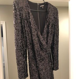 Express Sequin Party Dress Size 6